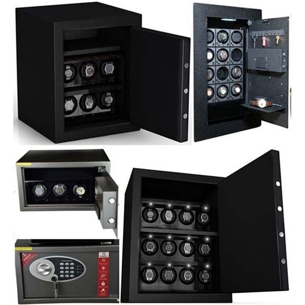 Watch Winder Safes & Winders designed for safes (Fort Knox Storage for your Timepieces)