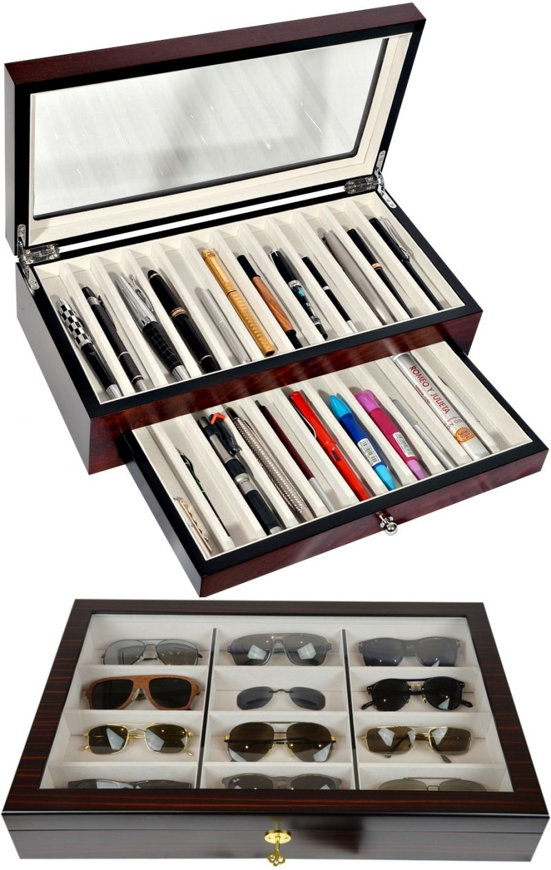 Attirant Pen U0026 Sunglasses Collection/Storage Cases