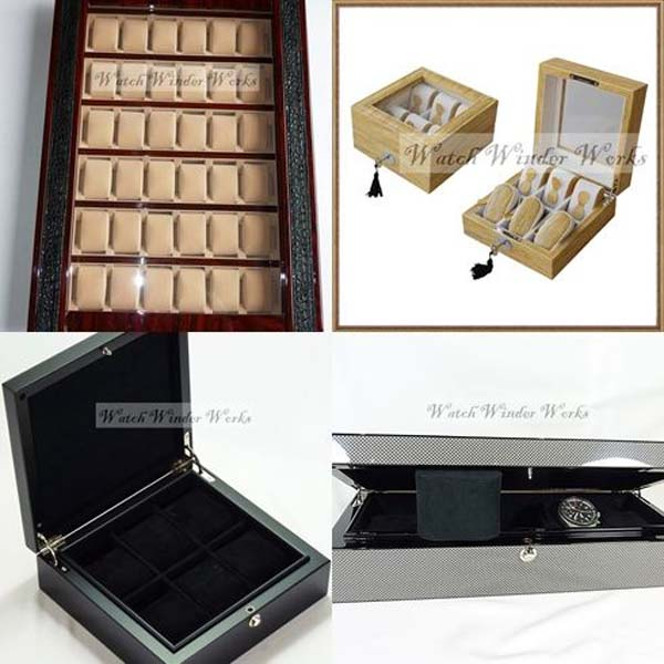 Luxury Watch Collection/Storage Boxes/Cases