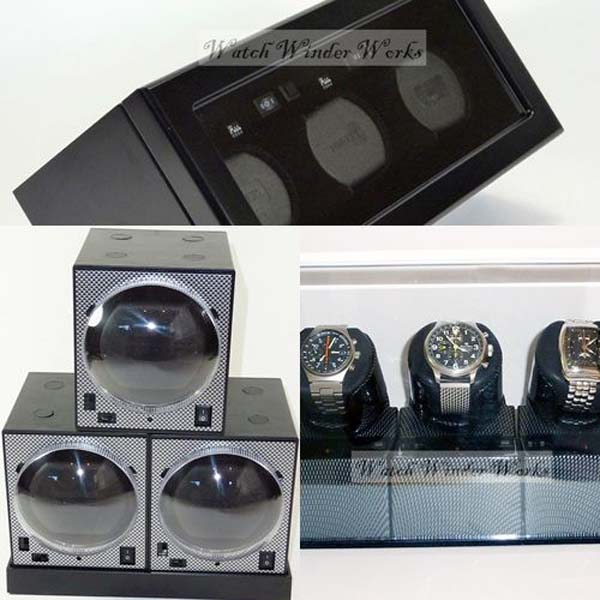 (3) Triple Automatic Watch Winders