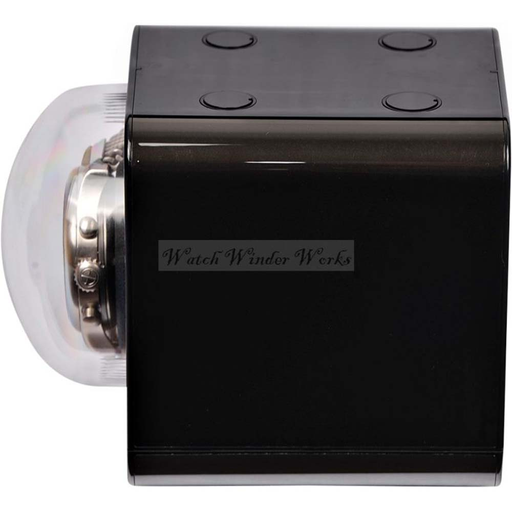"Genuine ""BOXY"" Fancy Brick single automatic watch winder :  model 1FB-F-CLRS (includes AC adapter)"