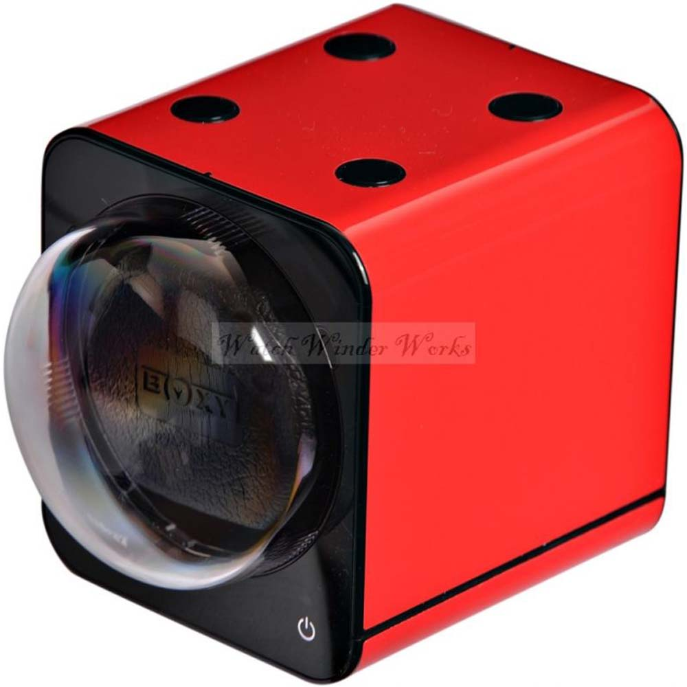 Add-on Fancy Brick automatic watch winder (NO AC Adapter!) - model 1FB-S-CLRS