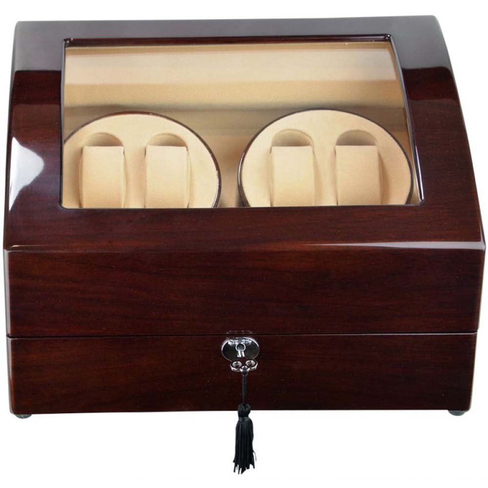 Luxury Display Quad+5 Automatic Watch Winder model:Atlantis-4MHLT5