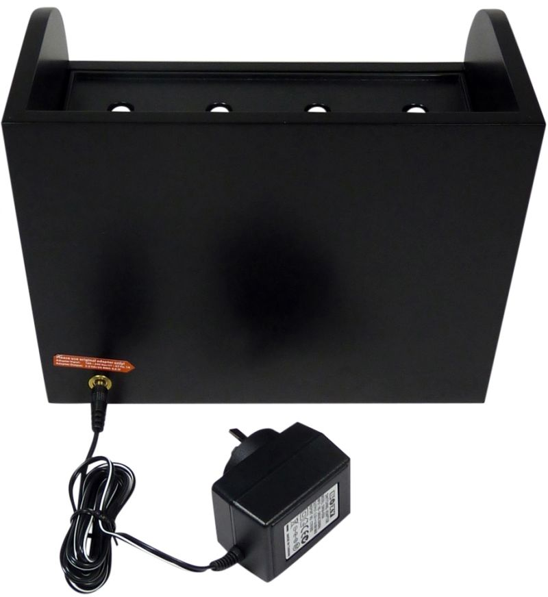 "Base Station-2+3 for the ""Boxy"" Brick Automatic Watch Winder System"