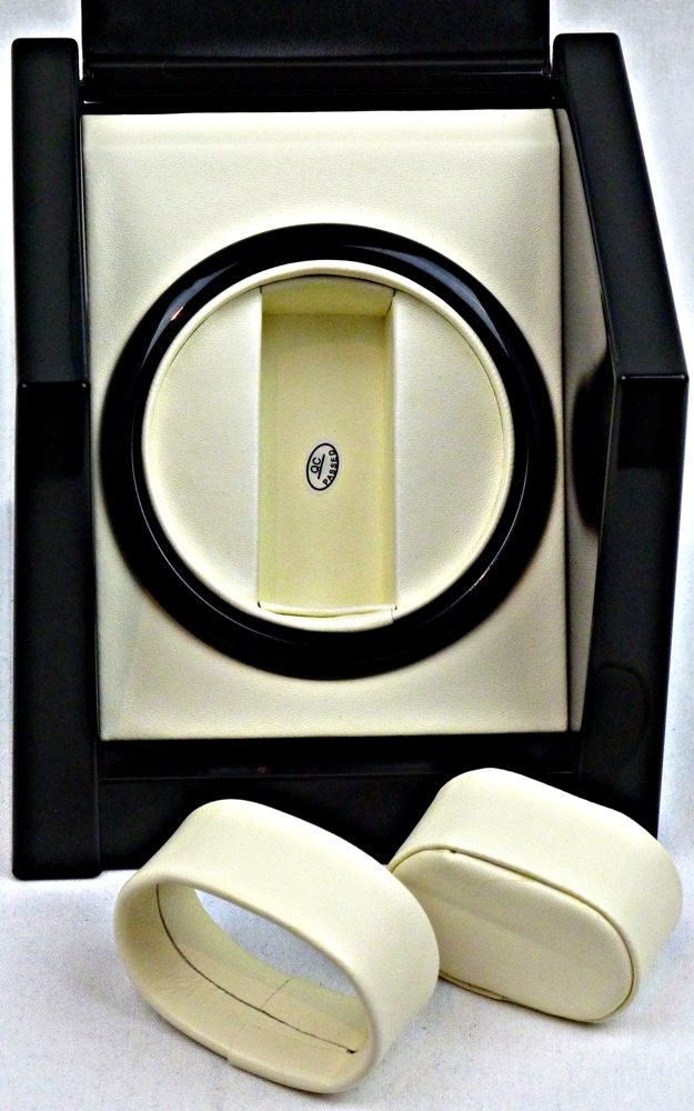 Single Display Kinetic Automatic Watch Winder/Charger- model: Galaxy-1BPL-K