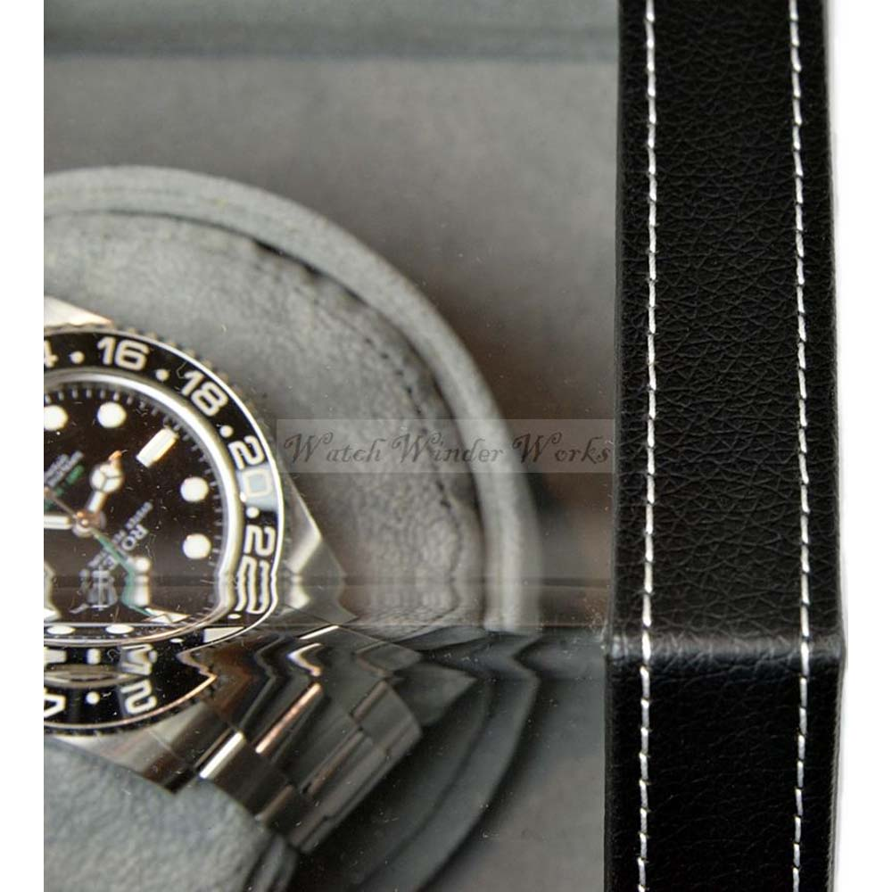 Luxury Display Single Automatic Watch Winder: model: Orion-1LGV