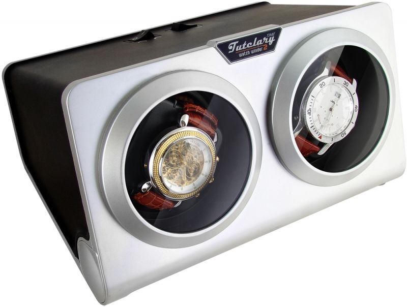 Dual Display Kinetic Automatic Watch Winder/Charger  model:Time Tutelary-G2-K