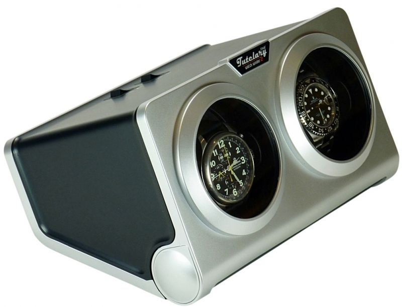 Display Dual Automatic Watch Winder model:Time Tutelary-G2