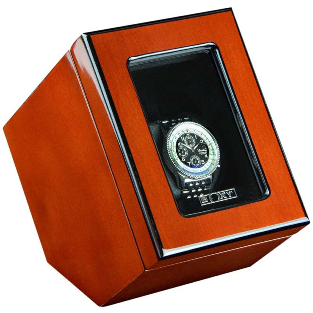 Luxury Display Single Automatic Watch Winder model:VISTA-01RGW