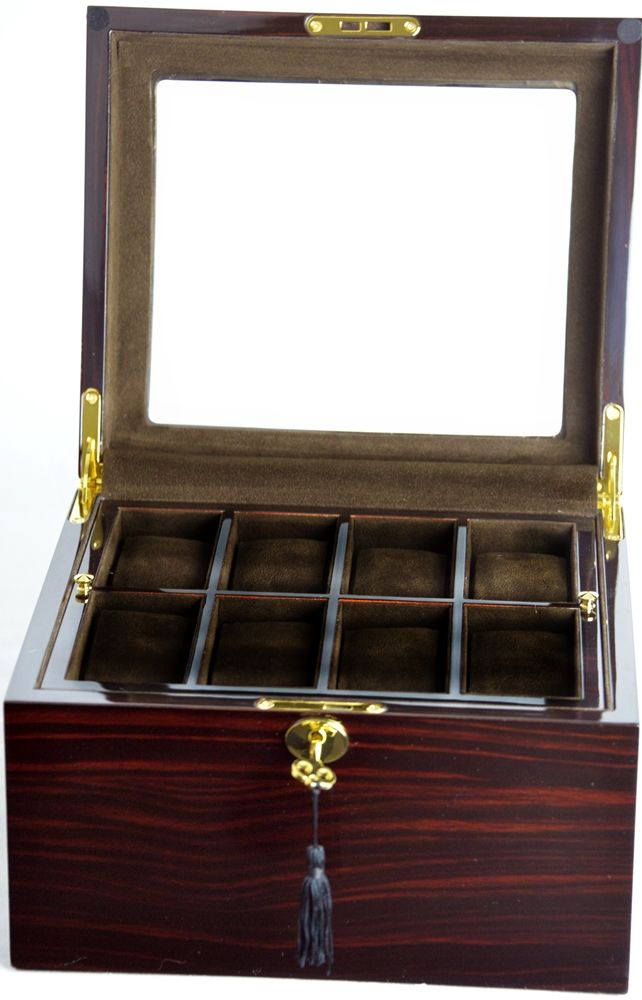 Luxury Display Watch Collection/Storage Box for 16 watches-model:Watchpro-16MCCOV