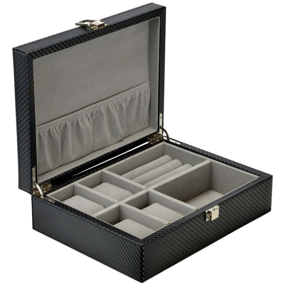 Luxury Multi-purpose Watch/Jewellery Collection/Storage Case -model: WatchCombo-4JC