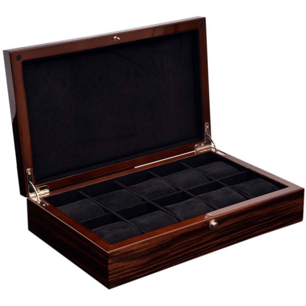 """BOXY"" brand Luxury Watch Collection/Storage Box for 10 watches-model:Watchpro-10MCBK"