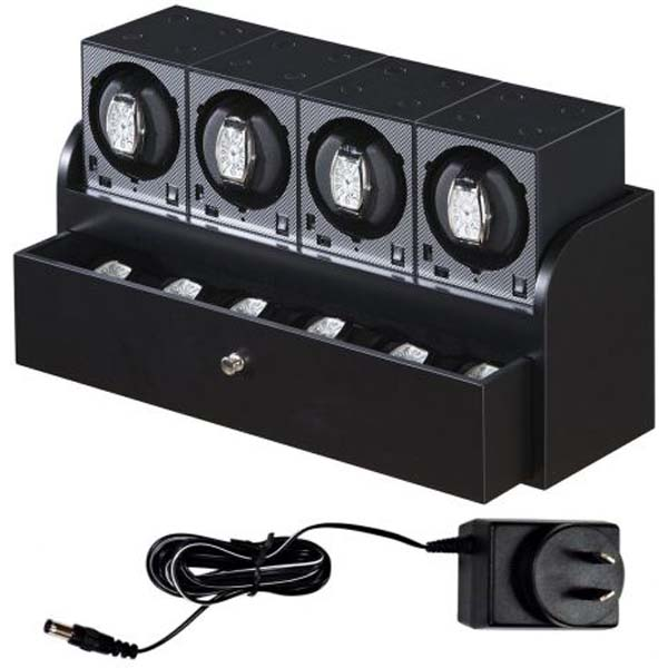 Luxury Display Quad Automatic watch winder System-4B4