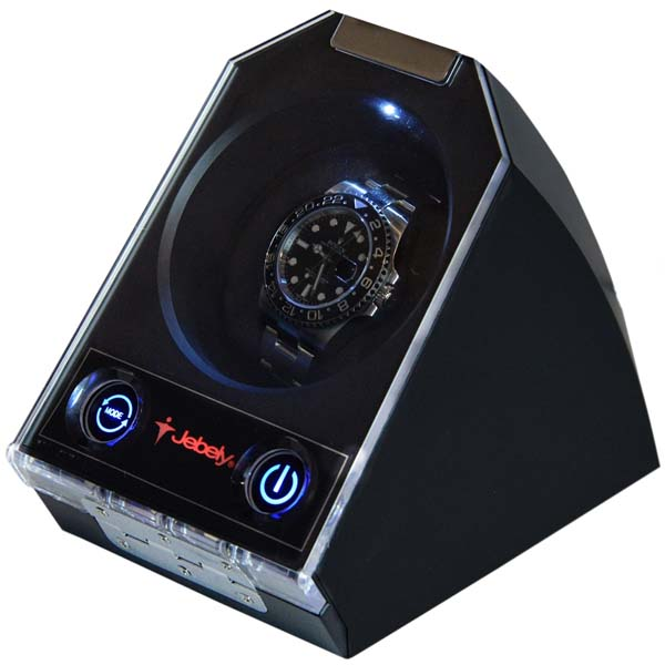 "Automatic Watch Winder for one watch model: Atom-1BLX-LED ""Star Wars"""