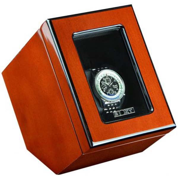 Luxury Display Single Automatic Watch Winder model:VISTA-01RWG