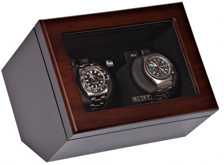 Luxury Display Dual Automatic Watch Winder model:  Vista-02WM