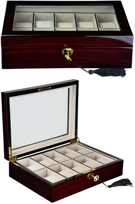 Luxury Watch Collection/Storage Box for 10 watches-model:Watchpro-10MC