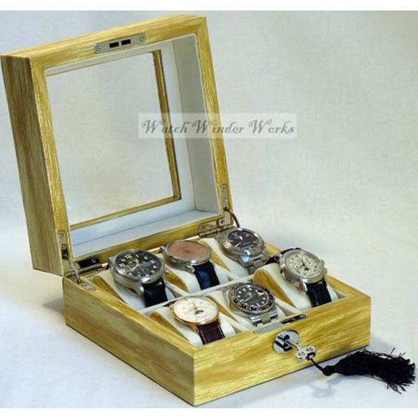 Luxury Display Watch Collection/Storage Box @ 6watches-model:Watchpro-6WGL