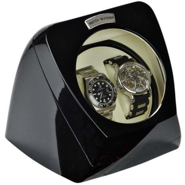 Display Automatic Watch Winder for 2 watches model:Atom-2BPL